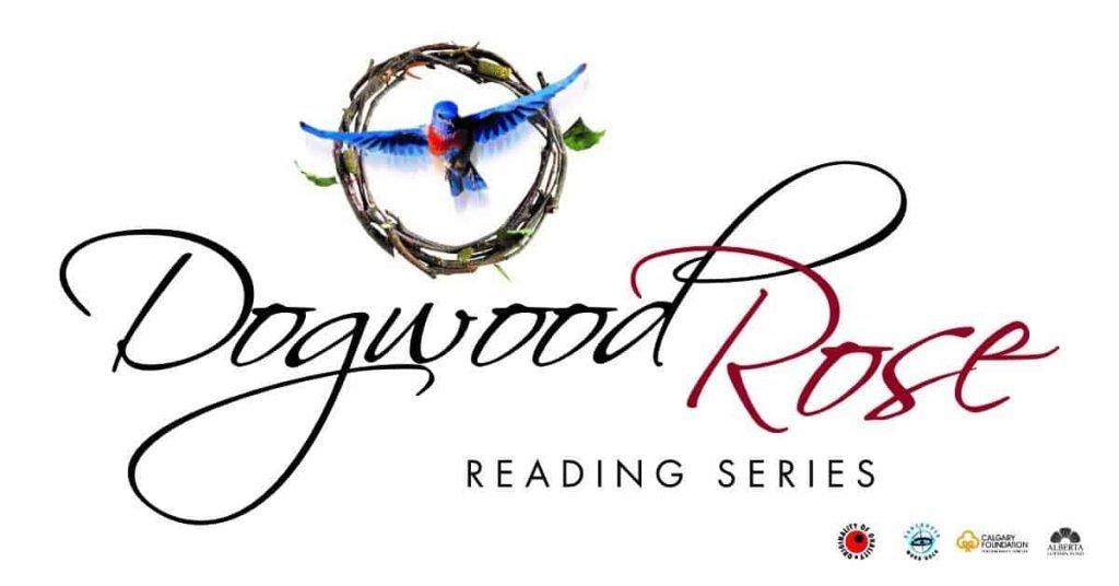 logo: dogwood rose reading series